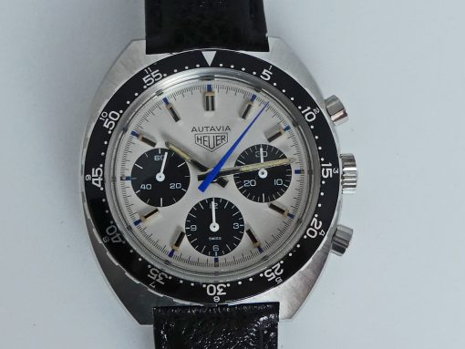 Heuer Autavia Jo Siffert colors Ref. 73663MH