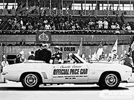 Indianapolis Chevrolet Camaro Pace Car