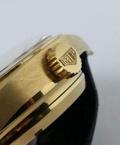 Heuer Carrera Ref. 1158CH 18 K Gold