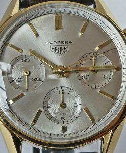 Heuer Carrera 12 Ref. 2456S 18K Gold