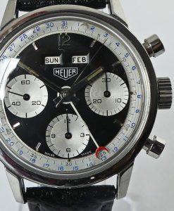 Heuer Carrera 12 Dato Ref. 2547NS Calendarium Silver Subs