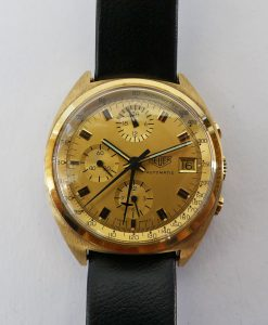 Heuer Chrono Ref. 510.508 18 K Gold