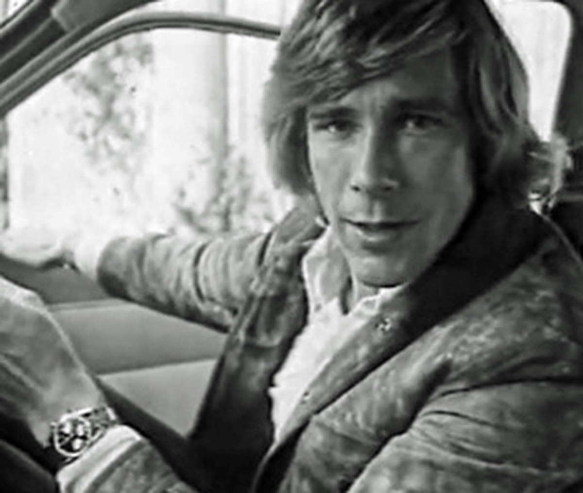 James Hunt mit Heuer Carrera