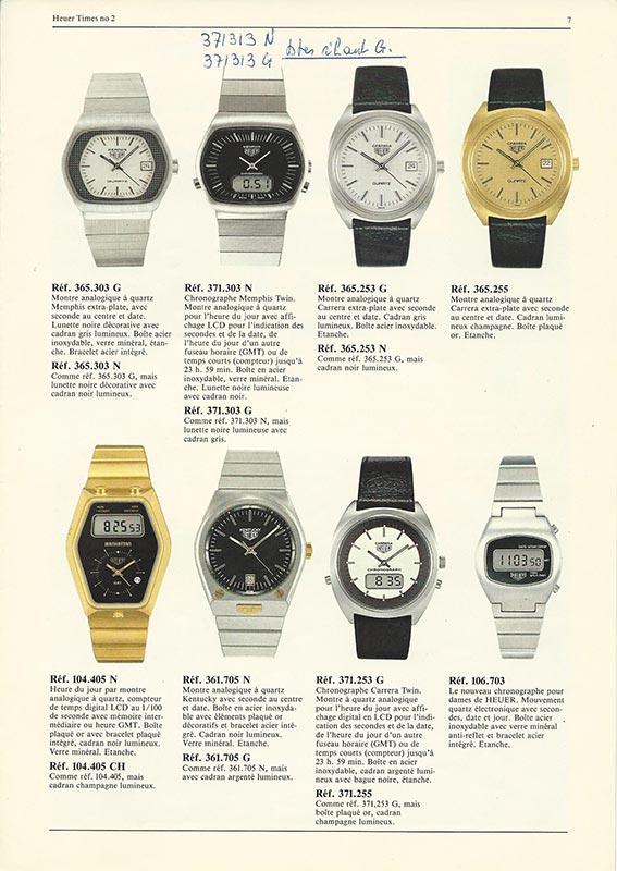 Beschreibung Heuer 1980iger Jahre